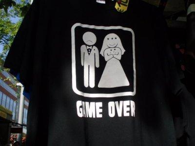Mariage : game over ! - game over