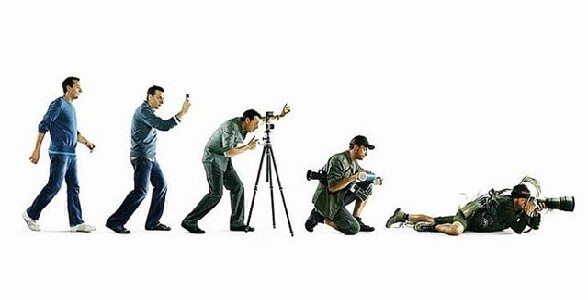 L evolution du photographe - l evolution du photographe